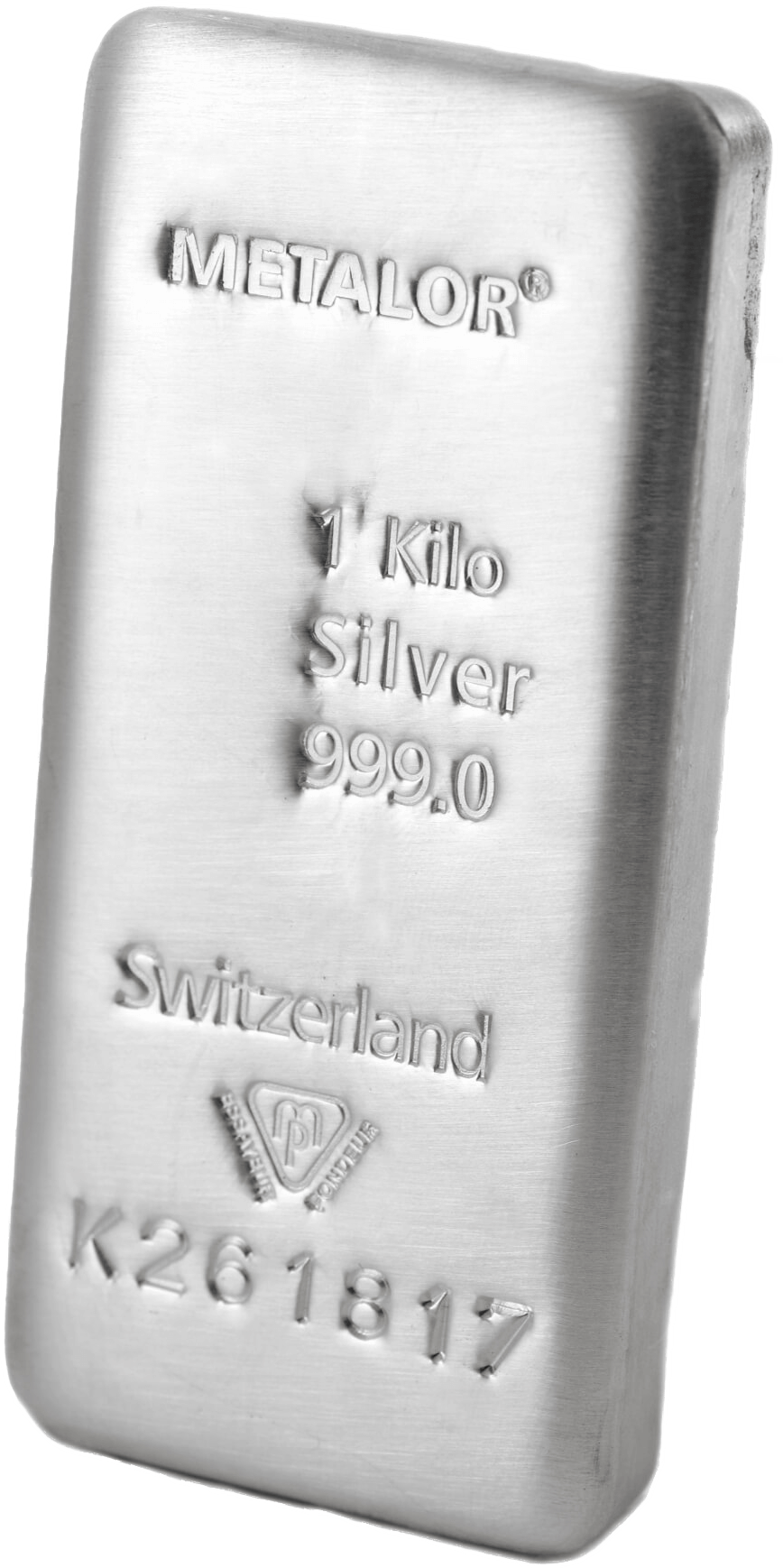 1kg 999 Metalor Silver Bullion Precious Metals Bar