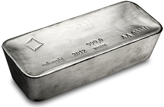 1 ounce as part of a 1000 ounce bar