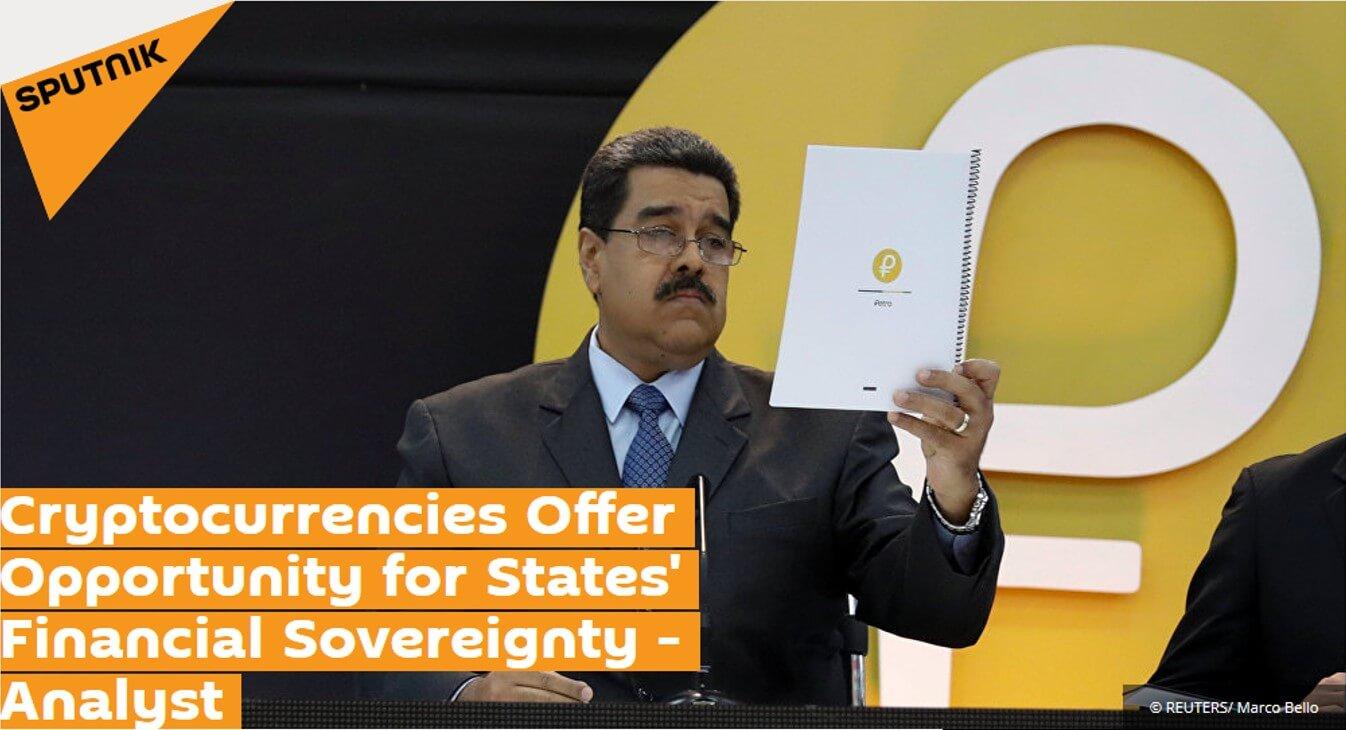 Venezuela Petro Cryptocurrency