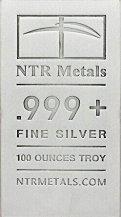 Buy Silver Bars - 100 ounce cast