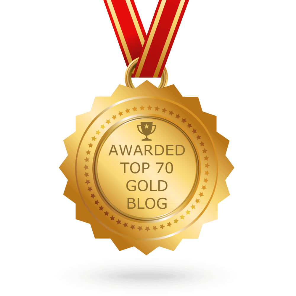 Top 70 Gold Bullion Blog Award