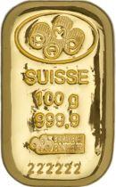 100 Gram Gold 9999 Bar