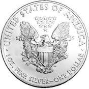 1oz silver american eagle coins