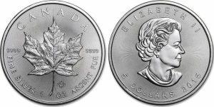 Buying Silver Coins - 1oz Maple Leaf
