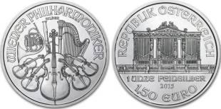Buying Silver Coins - 1oz Austrian Silver Vienna Philharmonic