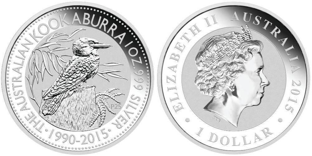 Buying Silver Coins 1oz Australian Kookaburra