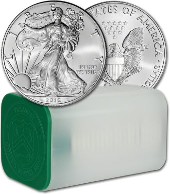 Roll of 20 x 1oz Silver Eagle American Coins