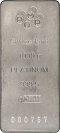 1 Kg Platinum Bar