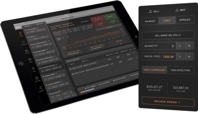Access Allocated Bullion Exchange with MetalDesk