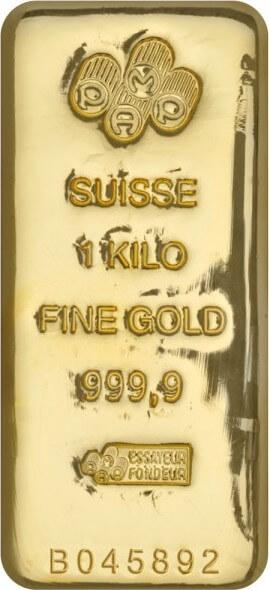 1 Kg Gold Bullion Bar 9999
