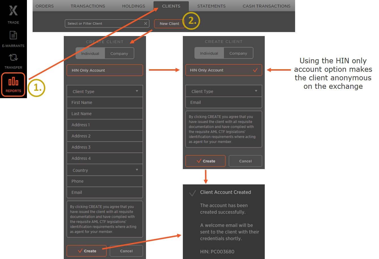 Creating Allocated Bullion Client Accounts