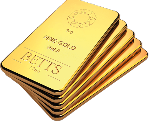 Betts 10 gram bars at a low online gold price