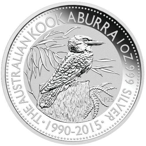 1oz Australian Kookaburra Silver Coin