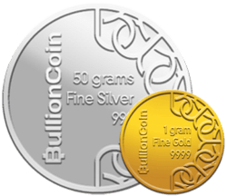 Get paid in physical gold and silver bullion