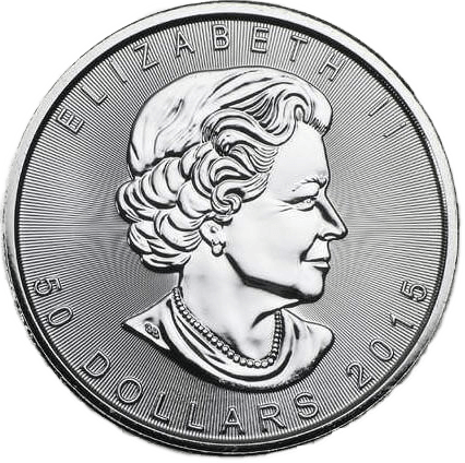 Buy Platinum Coins 1oz Canadian Maple Leaf Obverse