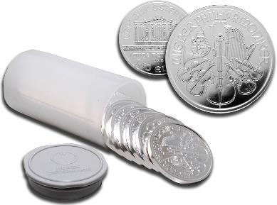 Buy Silver Coin in Bulk Packs of 20 x 1oz Globally