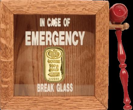 gold bullion emergency for buying gold
