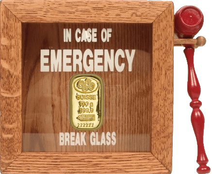 gold bullion emergency for buying gold
