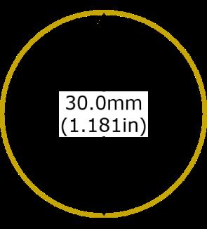 1oz Canadian Maple Leaf Gold Coin Diameter
