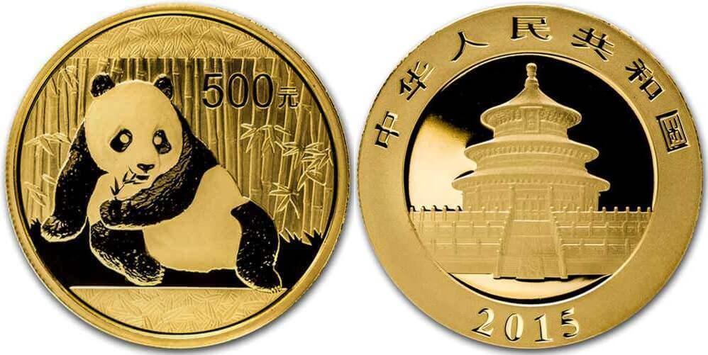 Buy Gold Bullion Coins - 1oz Chinese Panda