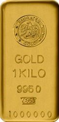 1 Kg Gold Bullion Bar 995