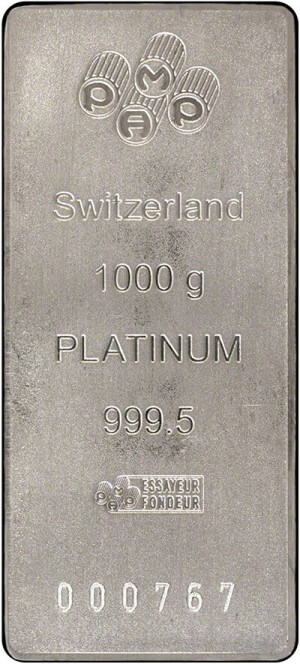 Allocated Bullion Exchange Review 1 Kg Platinum Bars