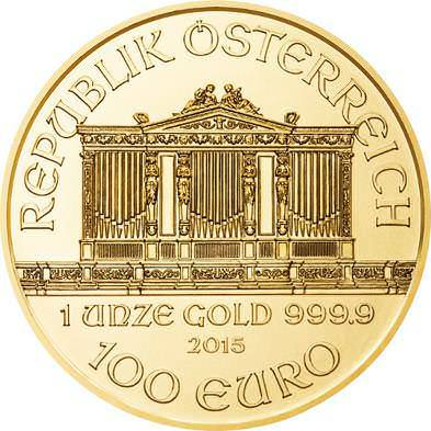 1oz Vienna Philharmonic Gold Coins At
