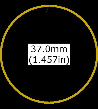 1oz Vienna Philharmonic Gold Coins Diameter