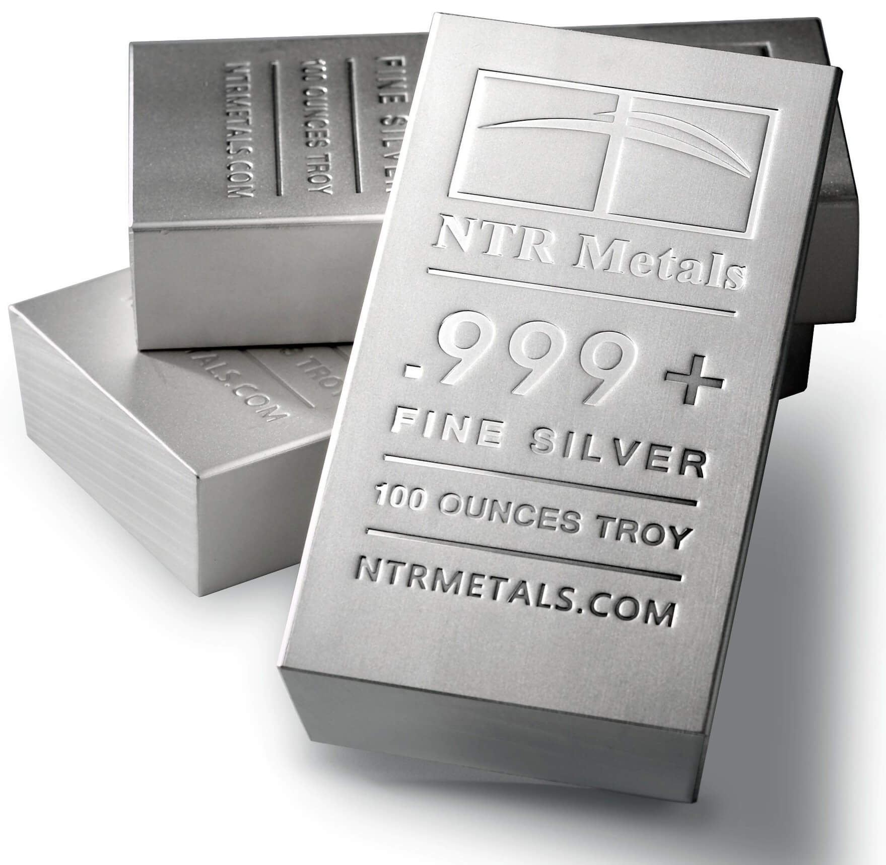 25,000 Ounces of Wholesale Silver Bullion