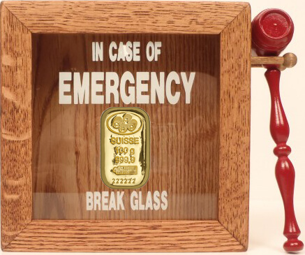 Buying gold in case of emergency